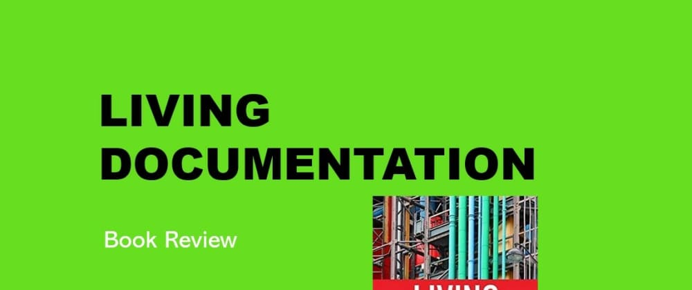 Cover image for Book review — Living Documentation