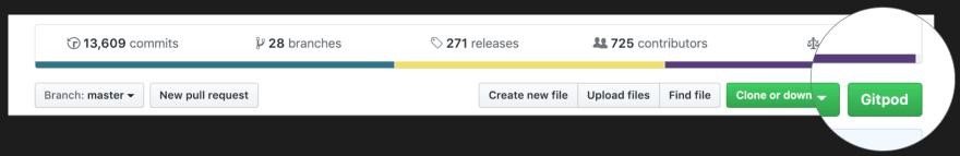 GitHub button
