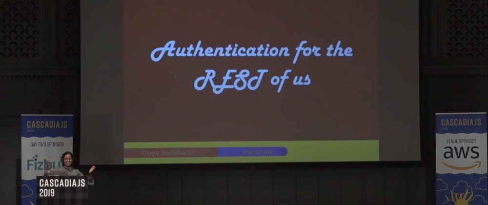 Cover image for #30DaysOfCJS: Authentication for the REST of Us