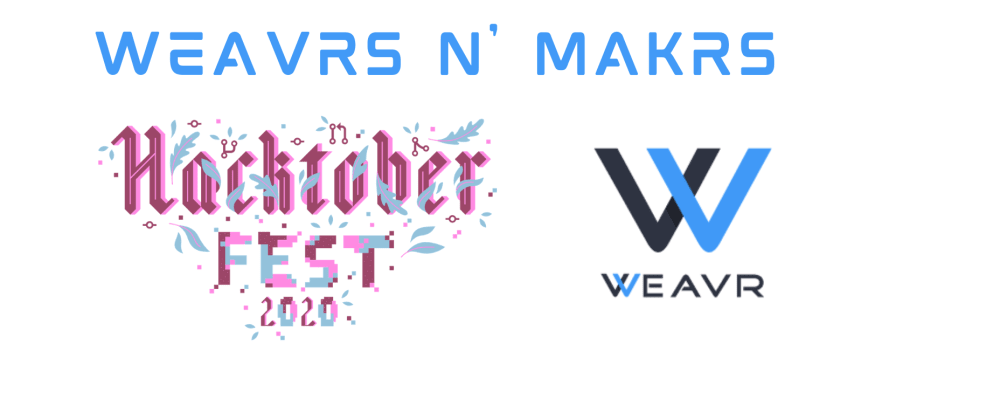 Cover image for Weavrs n' Makrs @Hacktoberfest 2020