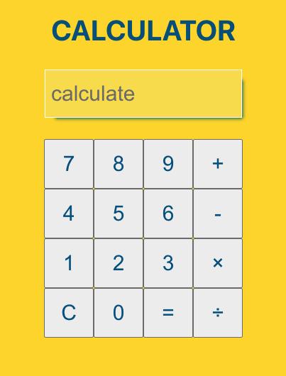 styled calculator