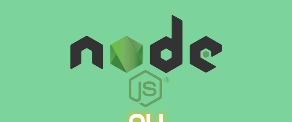 Cover image for Let's build a simple Node.js CLI application