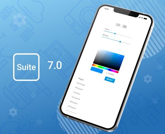 DHTMLX Suite 7.0