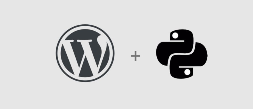 WordPress plus Python