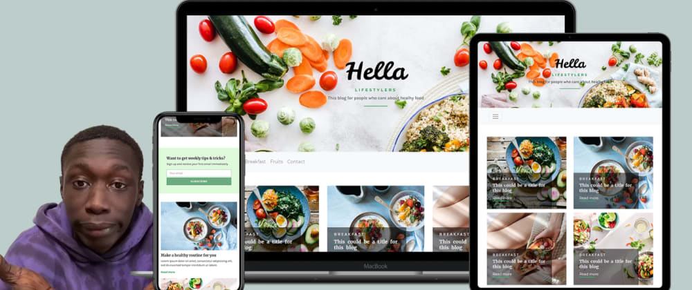 Cover image for How To Make A Website Using HTML CSS Bootstrap | Complete Website Design Tutorial