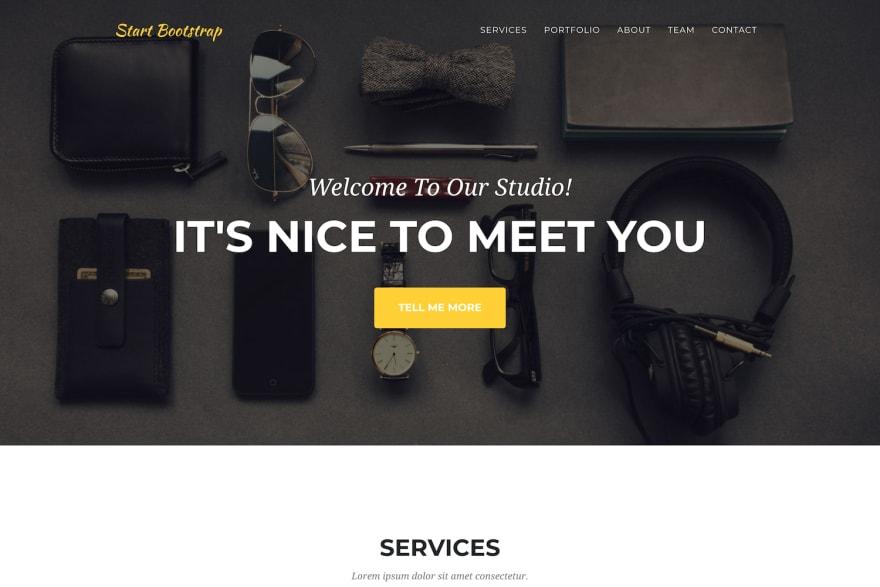 Agency StartBootstrap
