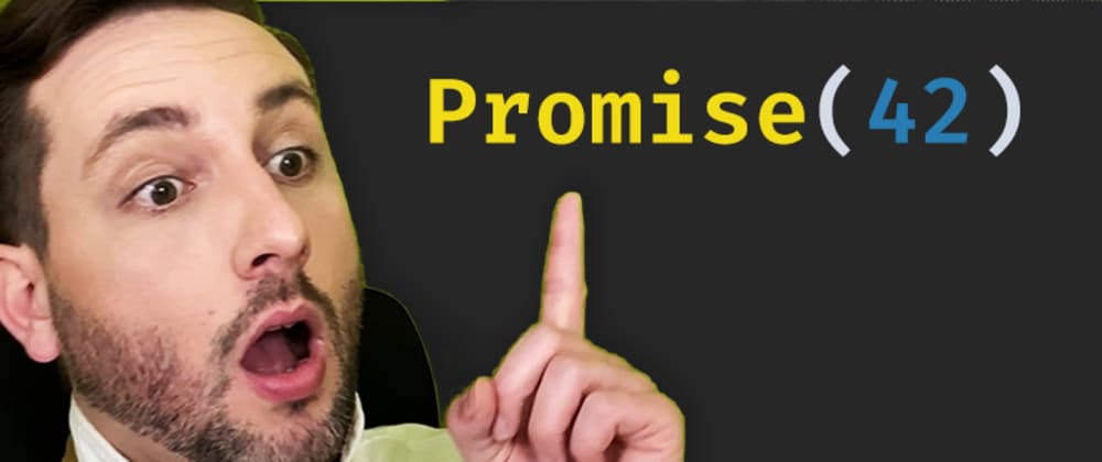 Cover image for Promises aren't just a way to deal with async operations...