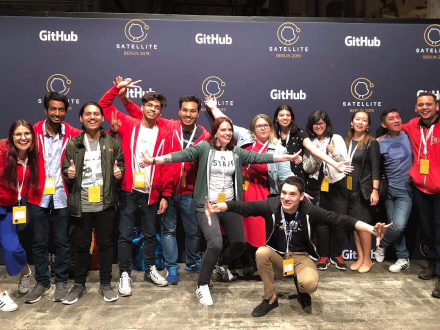 Group Photo GitHub Campus Expert - GitHub Satellite 2019 Berlin