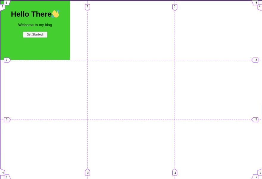 Grid line numberings