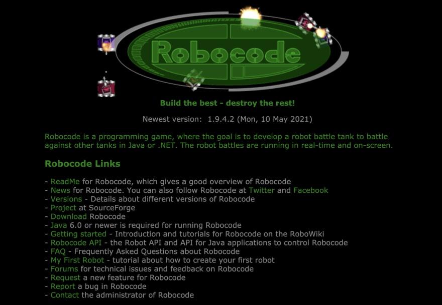 Robocode javascript gaming