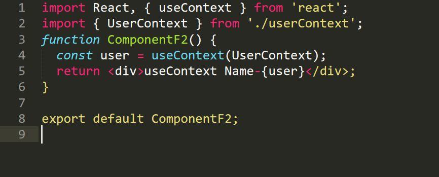 useContext