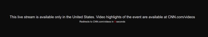 CNN Geoblocked