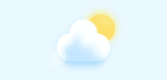 Weather image in CSS<br>