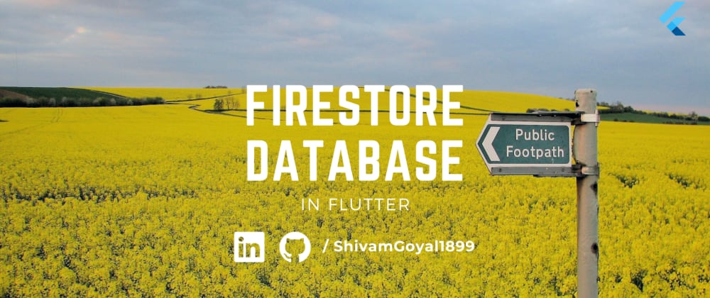 Cover image for Connecting Cloud Firestore Database to Flutter
