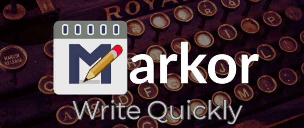 Cover image for Markor : 📘 Write Quickly ✏