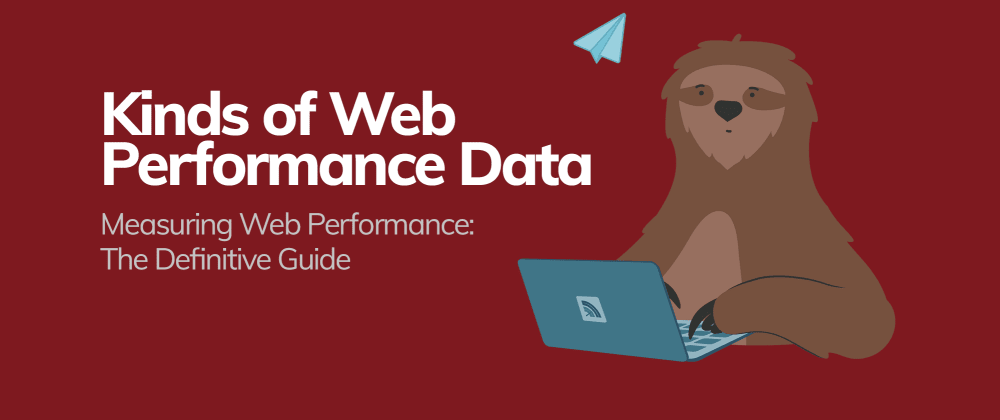Cover image for Kinds of Web Performance Data