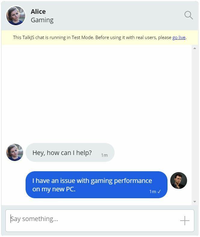 Gaming Chat