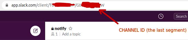 Slack Channel ID