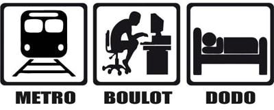 Metro-boulot-dodo