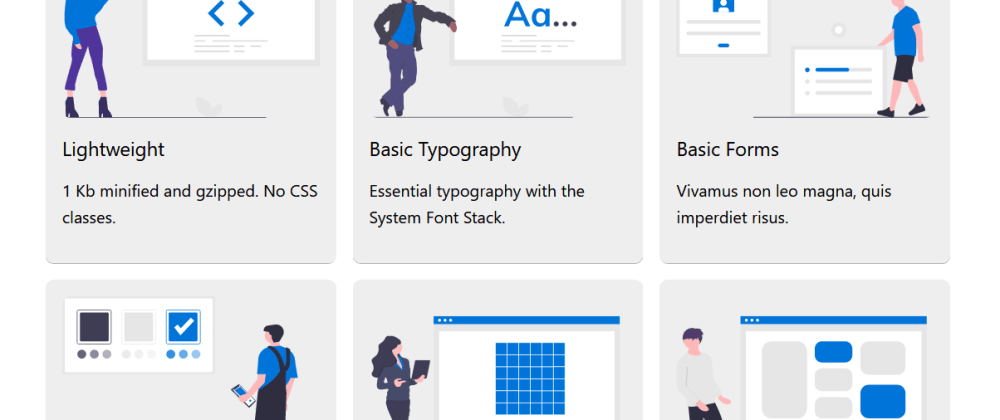 Cover image for Basic.css - Classless CSS Starter File