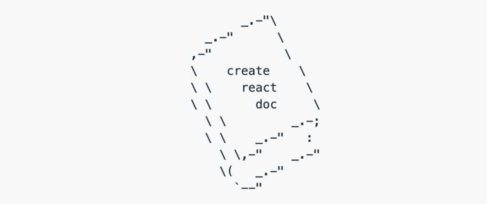 Cover image for Create React Doc: A Markdown Doc Site Generator For React