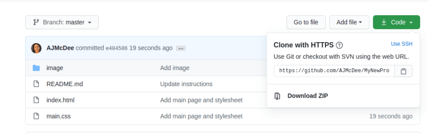 Screenshot of where to copy the URL