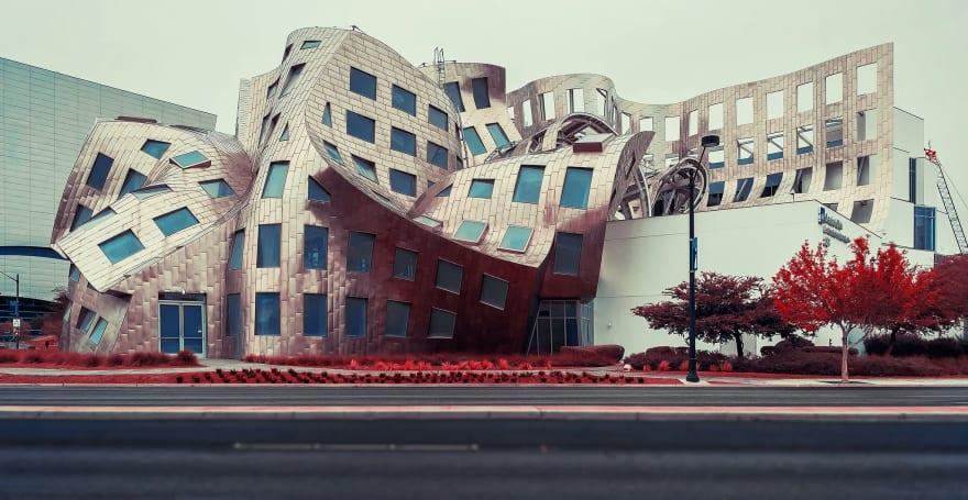 Obra arquitectónica realizada por Frank Owen Gehry en Las Vegas