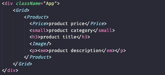 Adding our styled-components to our app