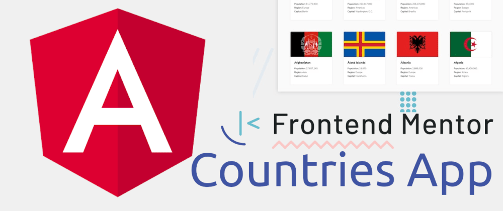 Cover image for Create the Frontend Mentor Countries app in Angular