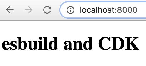 localhost screenshot