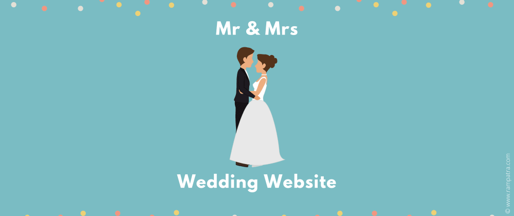 Cover image for How to have a wedding website for free