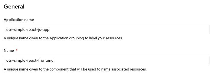9 - Application name