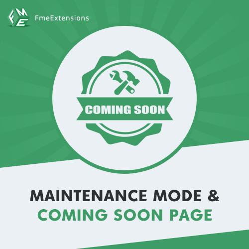 Coming Soon / Maintenance Mode