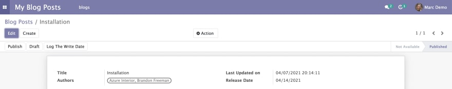 Working with Dates in Odoo - Analysis and Use Cases