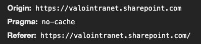 Referrer header - origin URL