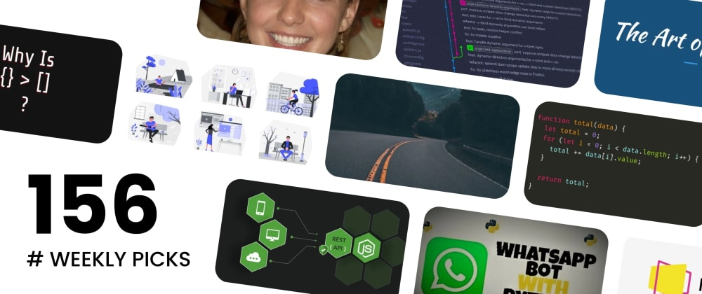 Cover image for 🔥 What's Hot in Web Development? — Weekly Picks #156