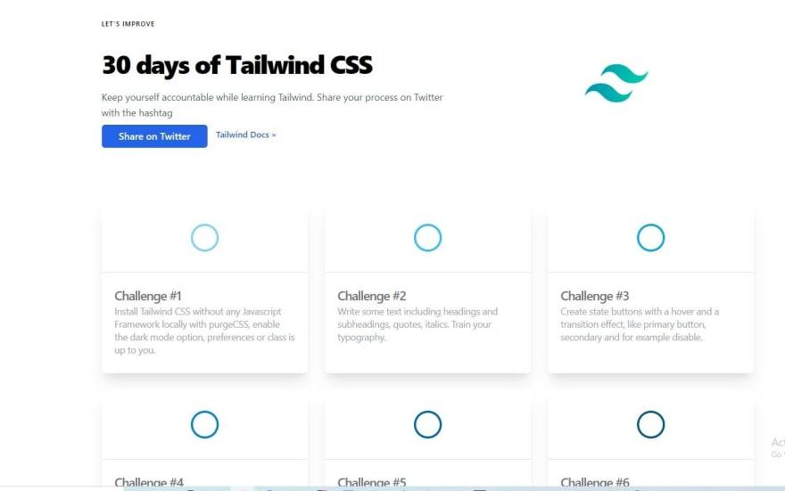30days of tailwindcss