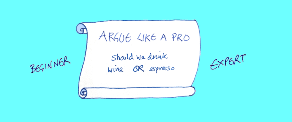 Cover image for How to argue like a pro dev: wine or espresso