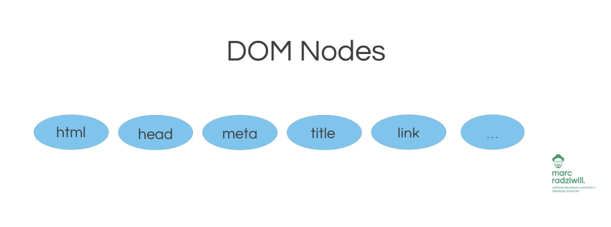 Nodes of the DOM