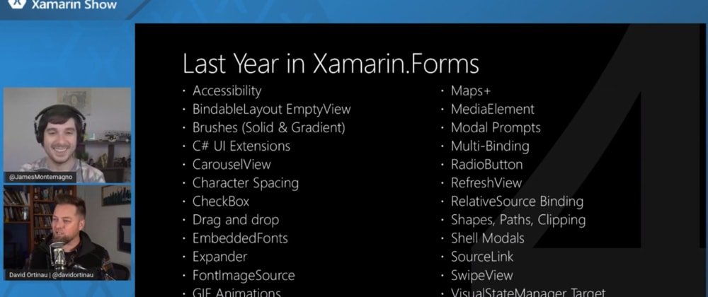 Cover image for Xamarin.Forms 5.0 en approche !