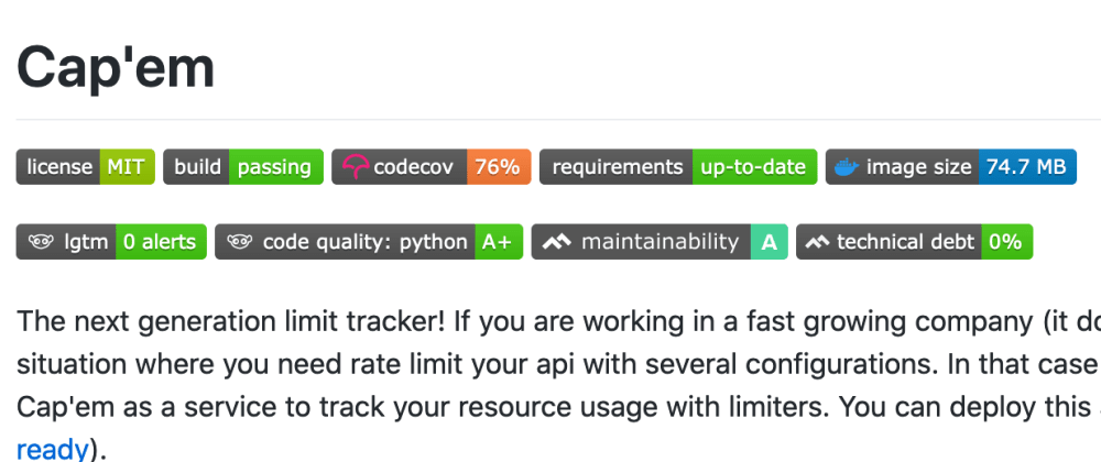 Cover image for How to add some badges in your git readme (GitHub, Gitlab etc.)