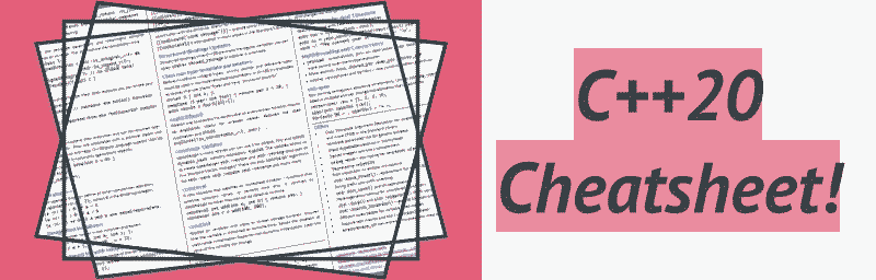 C++20 Reference Card