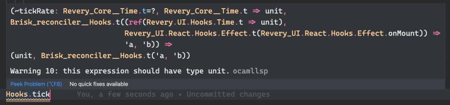 Type-signature of Hooks.tick in VSCode