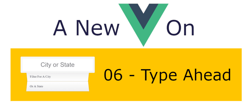 Cover image for A New Vue On JavaScript30 - 06 Type Ahead