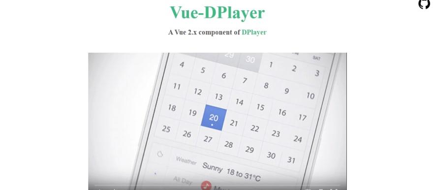 Vue-DPlayer