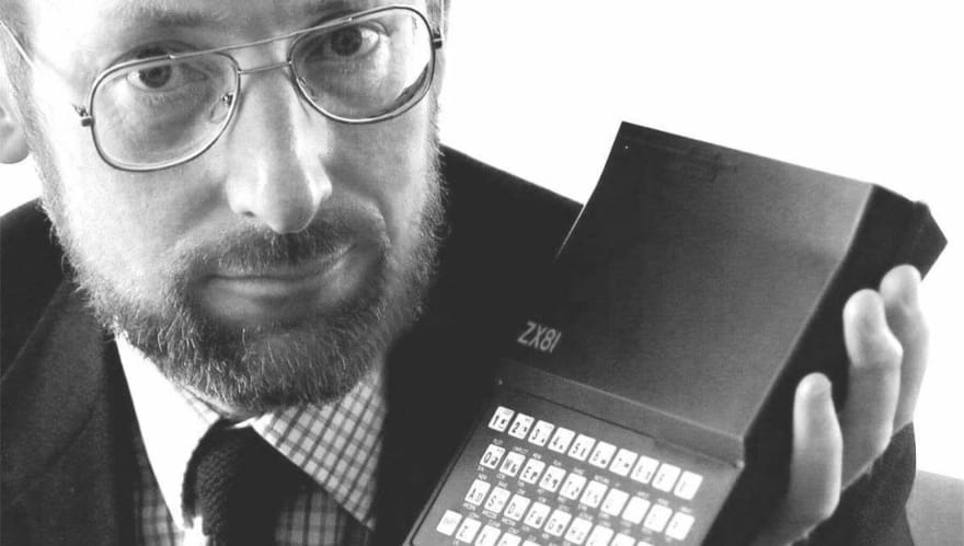 Clive and his Sinclair