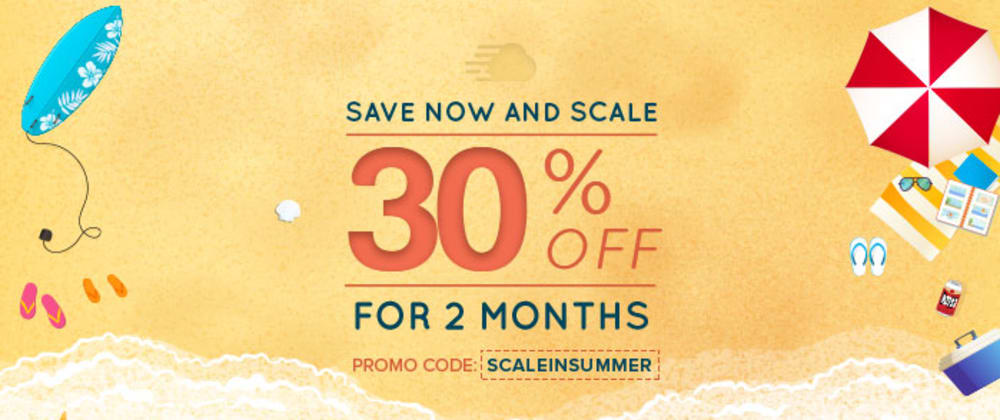 Cover image for DEV Summer Alert! Get 30% Off on Cloudways and Win Exclusive Swags. [Giveaway]