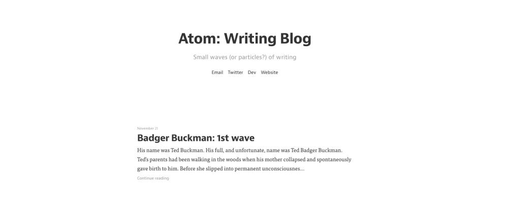 Tried out a new blogging platform called 'bloggi'