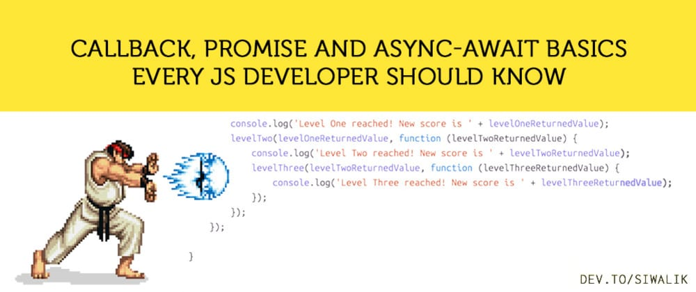 Cover image for Async programming basics every JS developer should know