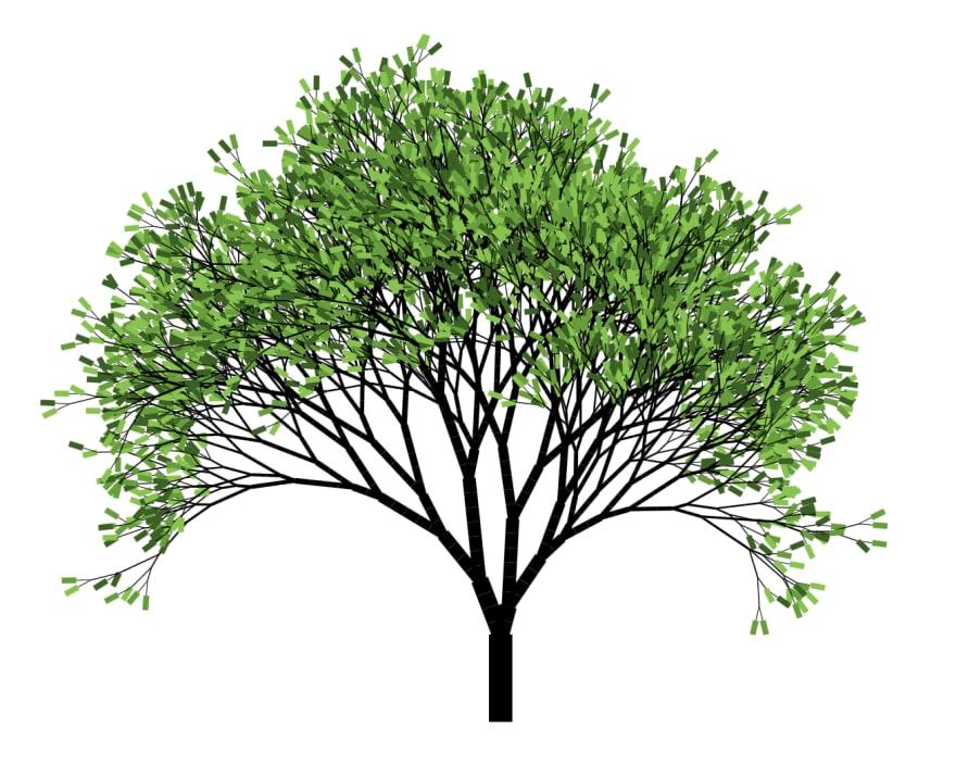 Generated tree image